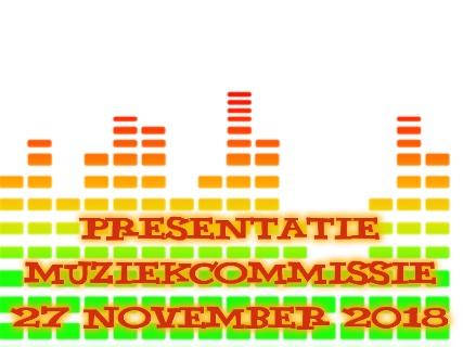 Presentatie Muziekcommissie